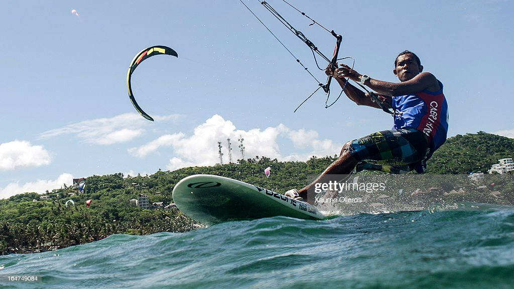 Narapichit Pudla of Thailand competes during day two of the KTA at Boracay Island on March 27, 2013 in Makati, Philippines.