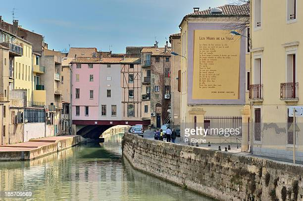 Narbonne, canal of Robine