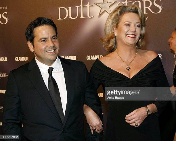 Narciso Rodriguez and Susanne Rumbler during 2007 Duftstars Awards in Berlin in Berlin Berlin Germany