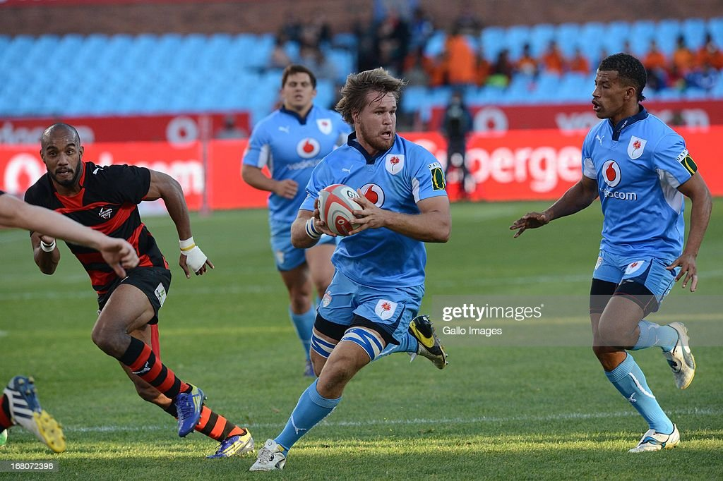 Nardus van der Walt of Blue Bulls during the Vodacom Cup Quarter Final match between Vodacom Blue Bulls and Eastern Province Kings at Loftus Versveld...