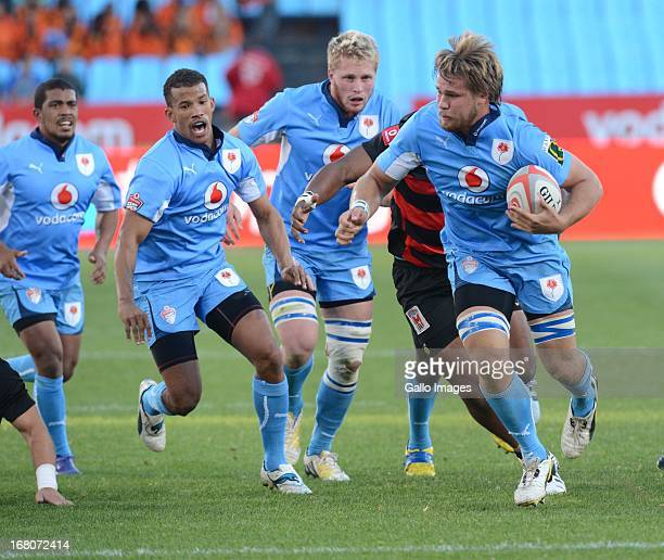 Nardus van der Walt of Blue Bulls during the Vodacom Cup Quarter Final match between Vodacom Blue Bulls and Eastern Province Kings at Loftus Versveld...
