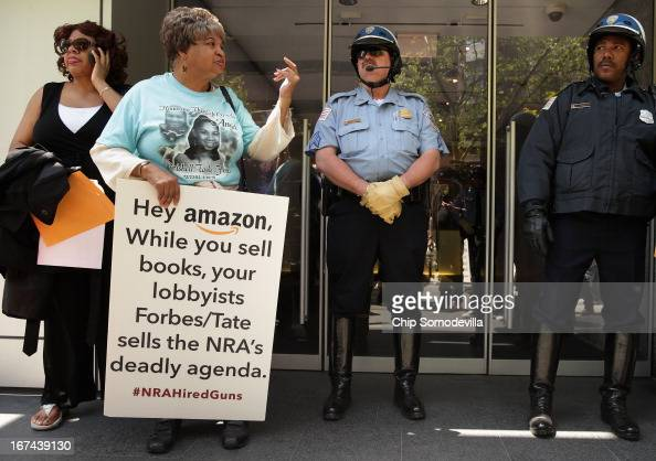 Nardyne Jefferies and her mother Linda Jefferies are prevented by DC Metro Police from entering the offices of Prime Policy Group a lobbying group...