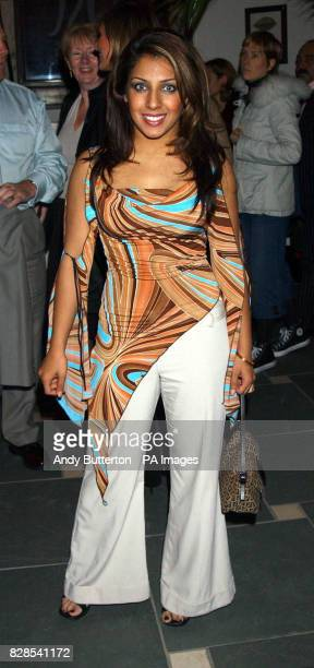 Narinder Kaur at Just St James in London for a party following the premiere of 'Anita and Me' as part of the Regus London Film Festival