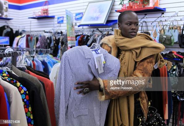 Naro Lokuruka shops for clothes at the Salvation Army The model can't afford the expensive clothes she wears on the runway So she hunts for gems at...