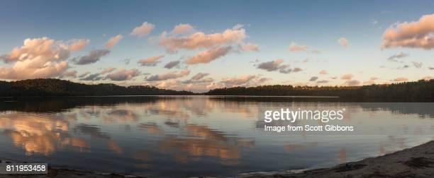 Narrabeen Lagoon At Sunset