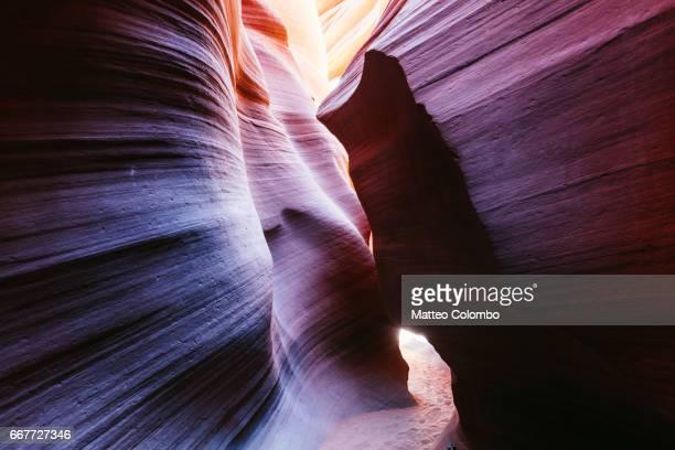 Narrow passage, Lower Antelope canyon, USA