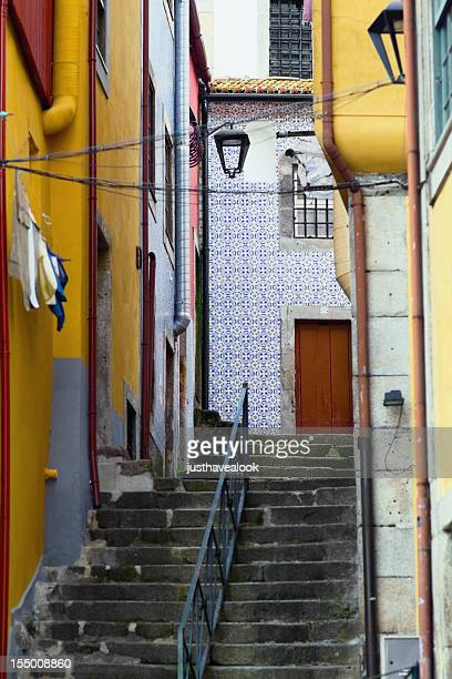 Narrow street in Porto