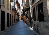 Narrow street in Spain