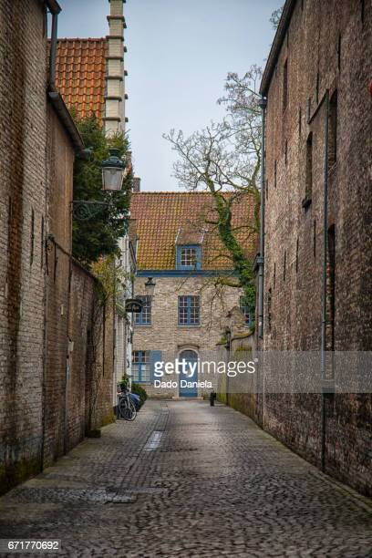 Narrow Street of Bruges