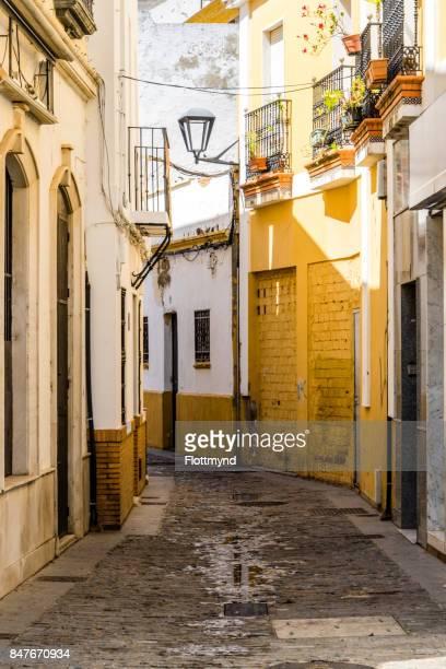 Narrow winding streets, Isla Cristina
