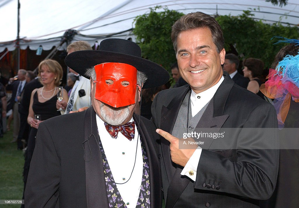 Narsai David & Steve Mariucci during The 22nd Annual Napa Valley Wine Auction 'Cirque du Vin: Revelry in the Vineyards' at Meadowood Napa Valley in St. Helena, California, United States.
