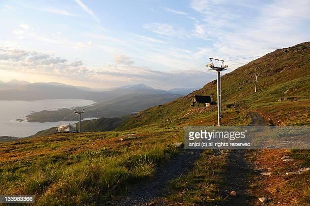 Narvikfjellet in Narvik, Norway