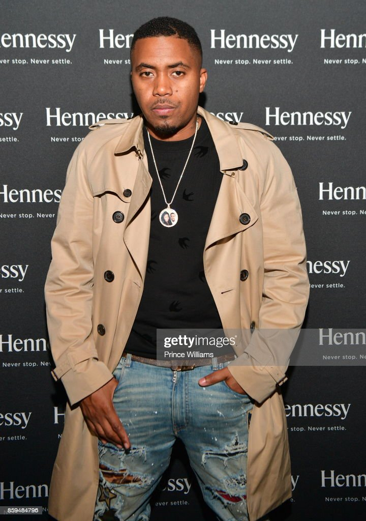 Nas attends a party at Gold Room on October 9, 2017 in Atlanta, Georgia.