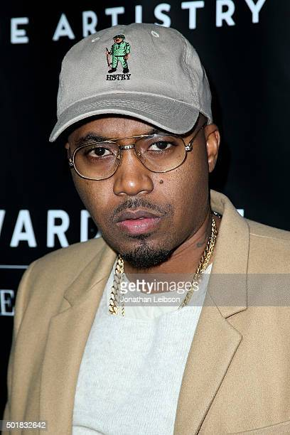 Nas attends the Wardrobe Department LA grand opening at Wardrobe Department on December 17 2015 in Los Angeles California