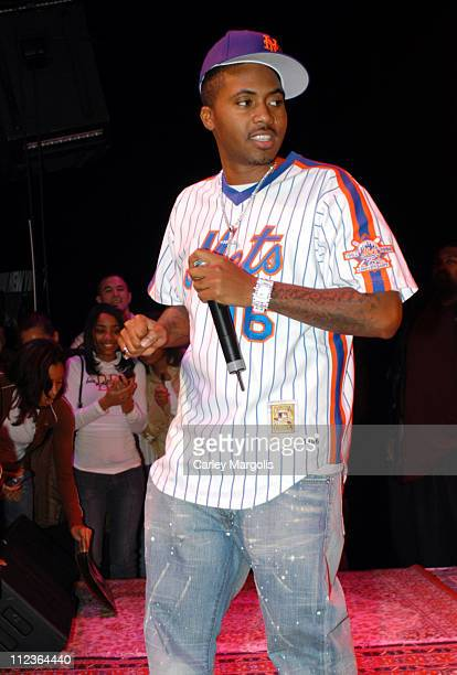 Nas during Hot 97's VIP Lounge Featuring Nas November 23 2004 at Sony Sound Stage in New York City New York United States