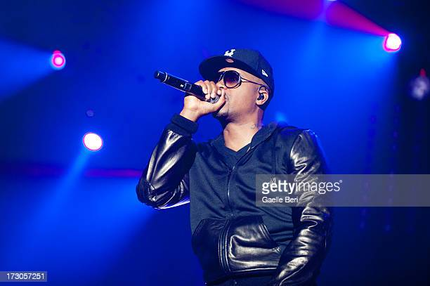 Nas performs on stage on Day 3 of Open'er Festival 2013 on July 5 2013 in Gdynia Poland