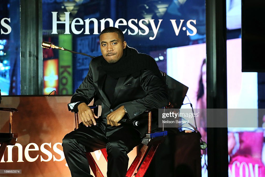<a gi-track='captionPersonalityLinkClicked' href=/galleries/search?phrase=Nas&family=editorial&specificpeople=204627 ng-click='$event.stopPropagation()'>Nas</a> speaks onstage at R Lounge at the Renaissance New York Times Square Hotel on January 15, 2013 in New York City.
