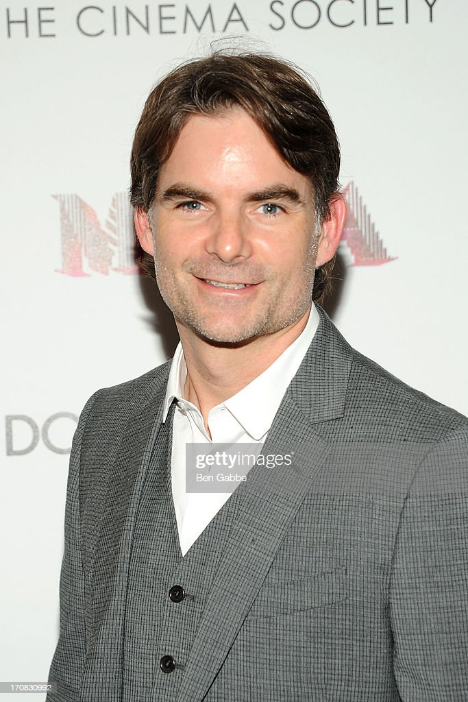 Nascar driver <a gi-track='captionPersonalityLinkClicked' href=/galleries/search?phrase=Jeff+Gordon&family=editorial&specificpeople=171491 ng-click='$event.stopPropagation()'>Jeff Gordon</a> attends the Dolce & Gabbana and The Cinema Society screening of the Epix World premiere of 'Madonna: The MDNA Tour' at The Paris Theatre on June 18, 2013 in New York City.