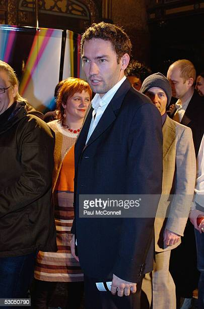 Nash Edgerton attends the opening night of the Sydney Film Festival at the State Theatre June 10 2005 in Sydney Australia