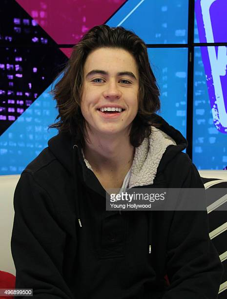 Nash Grier visits the Young Hollywood Studio on November 11 2015 in Los Angeles California