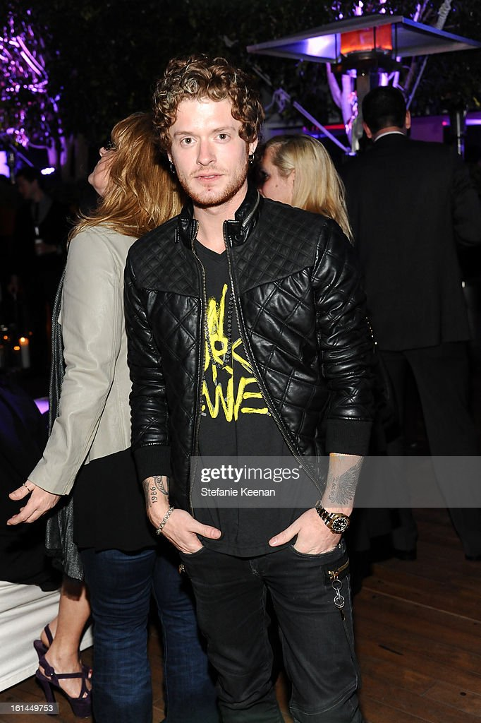 Nash Oversheet attend Red Light Management Grammy After Party at Mondrian Los Angeles on February 10, 2013 in West Hollywood, California.