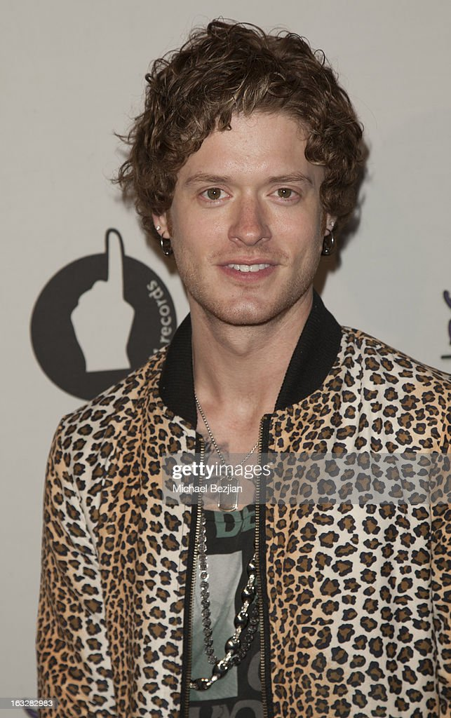 Nash Overstreet of Hot Chelle Rae attends 7th Annual 'Stars & Strikes' Celebrity Bowling And Poker Tournament Benefiting A Place Called Home at PINZ Bowling & Entertainment Center on March 6, 2013 in Studio City, California.