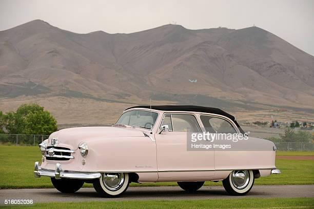 Nash rolltop convertible Marilyn Monroe 1951 By Simon Clay