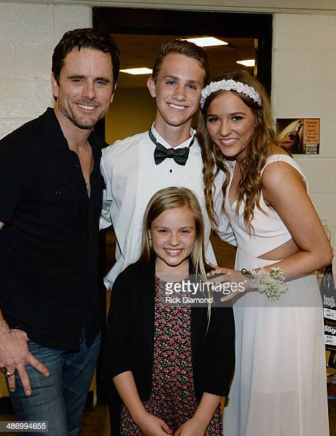 Nashville cast member Charles Esten join Wes Theriau ABC's Nashville cast member Lennon Stella who arrive together after attending Brentwood High...
