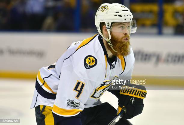 Nashville defenseman Ryan Ellis during game five of the second round of the Stanley Cup Playoffs between the Nashville Predators and the St Louis...