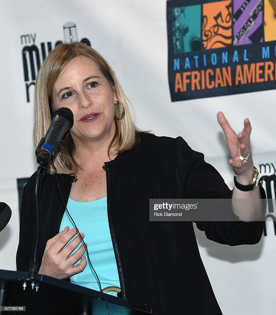 Nashville Mayor Megan Barry attends NMAAM National Chairs And Fundraising Progress Press Conference at Nashville Vistor Center on May 2, 2016 in Nashville, Tennessee.