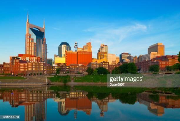 skyline de Nashville em Amanhecer