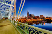 Nashville Skyline by Night