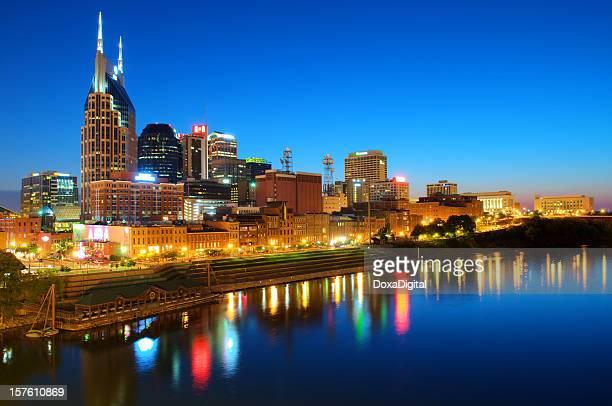 Skyline de Nashville/Vista da Cidade