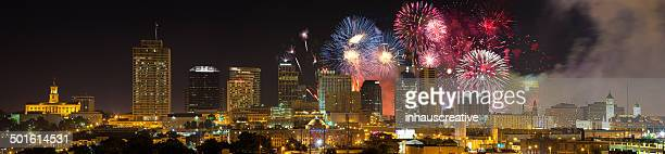 Nashville Tennessee 2014 4 de Julho Fogo de Artifício