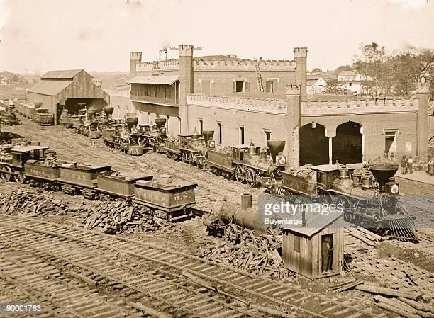 Nashville Tennessee Railroad depot
