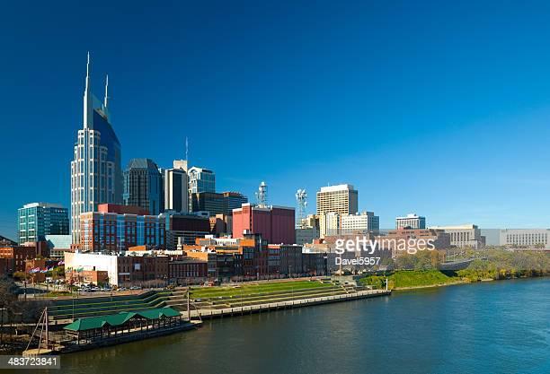 skyline de Nashville waterfront