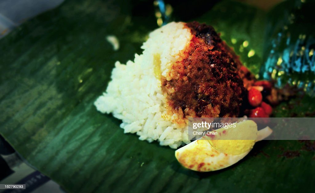 Nasi lemak : Stock Photo