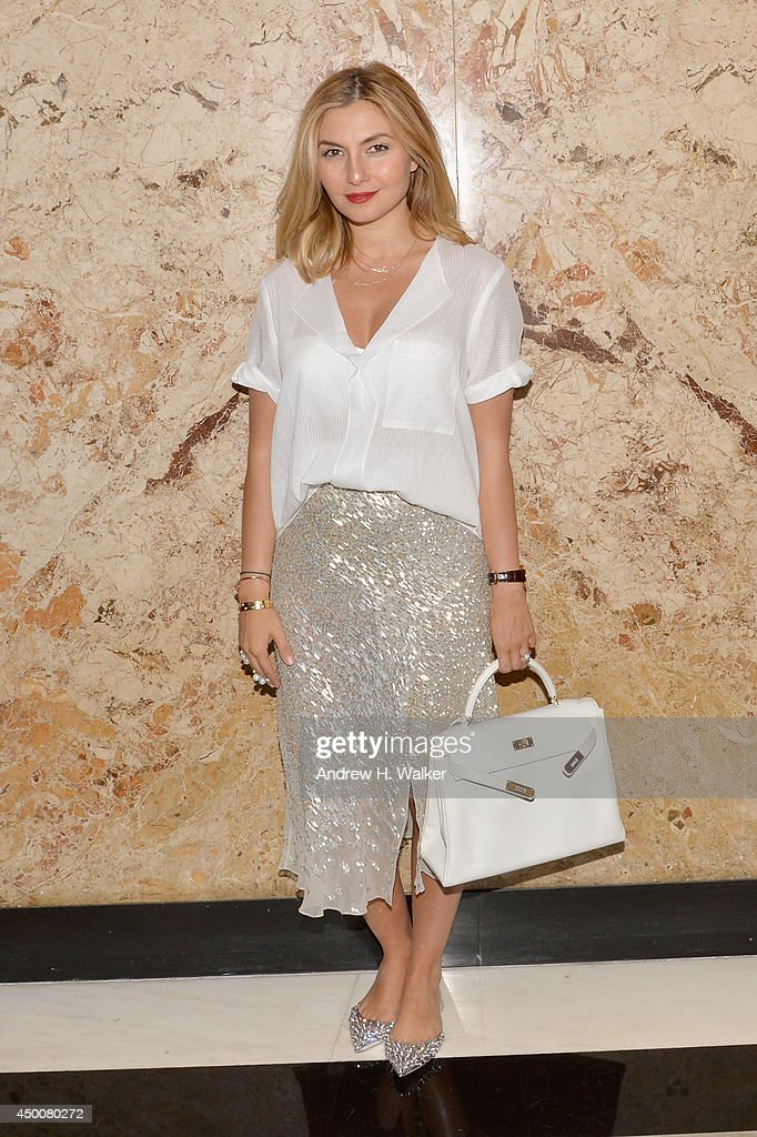 Nasiba Adilova attends the Gucci beauty launch event hosted by Frida Giannini on June 4, 2014 in New York City.