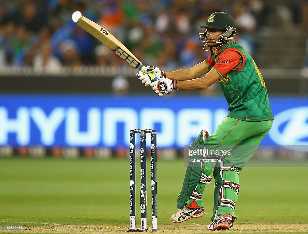 <a gi-track='captionPersonalityLinkClicked' href=/galleries/search?phrase=Nasir+Hossain&family=editorial&specificpeople=4879926 ng-click='$event.stopPropagation()'>Nasir Hossain</a> of Bangladesh bats during the 2015 ICC Cricket World Cup match between India and Bangldesh at Melbourne Cricket Ground on March 19, 2015 in Melbourne, Australia.