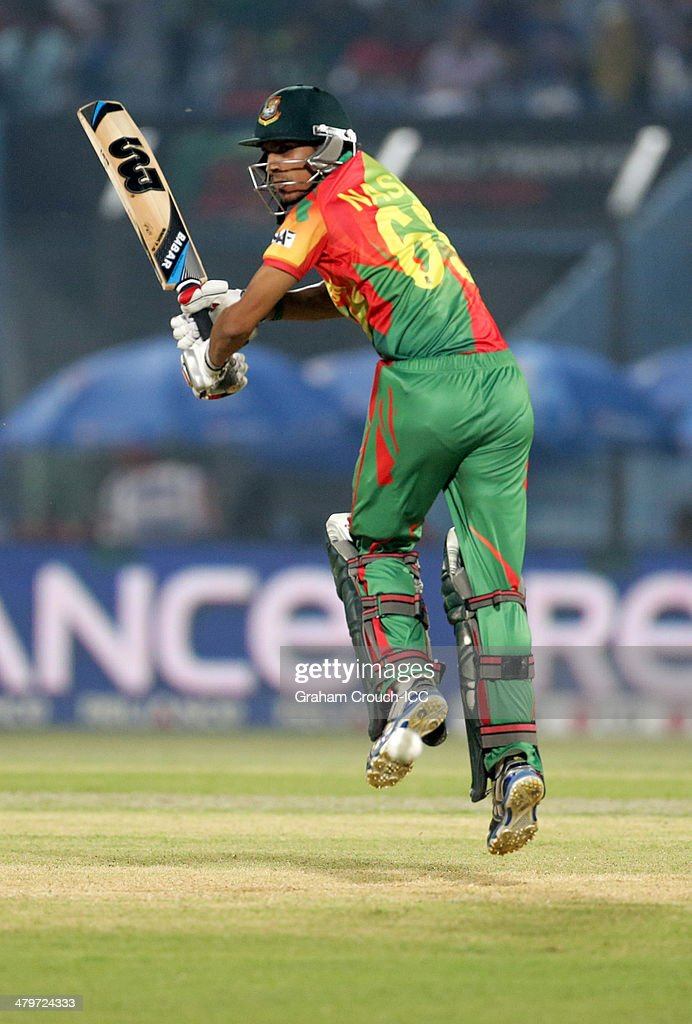 <a gi-track='captionPersonalityLinkClicked' href=/galleries/search?phrase=Nasir+Hossain&family=editorial&specificpeople=4879926 ng-click='$event.stopPropagation()'>Nasir Hossain</a> of Bangladesh bats during the Bangladesh v Hong Kong match at the ICC World Twenty20 Bangladesh 2014 played at Zahur Ahmed Chowdhury Stadium on March 20, 2014 in Chittagong, Bangladesh.
