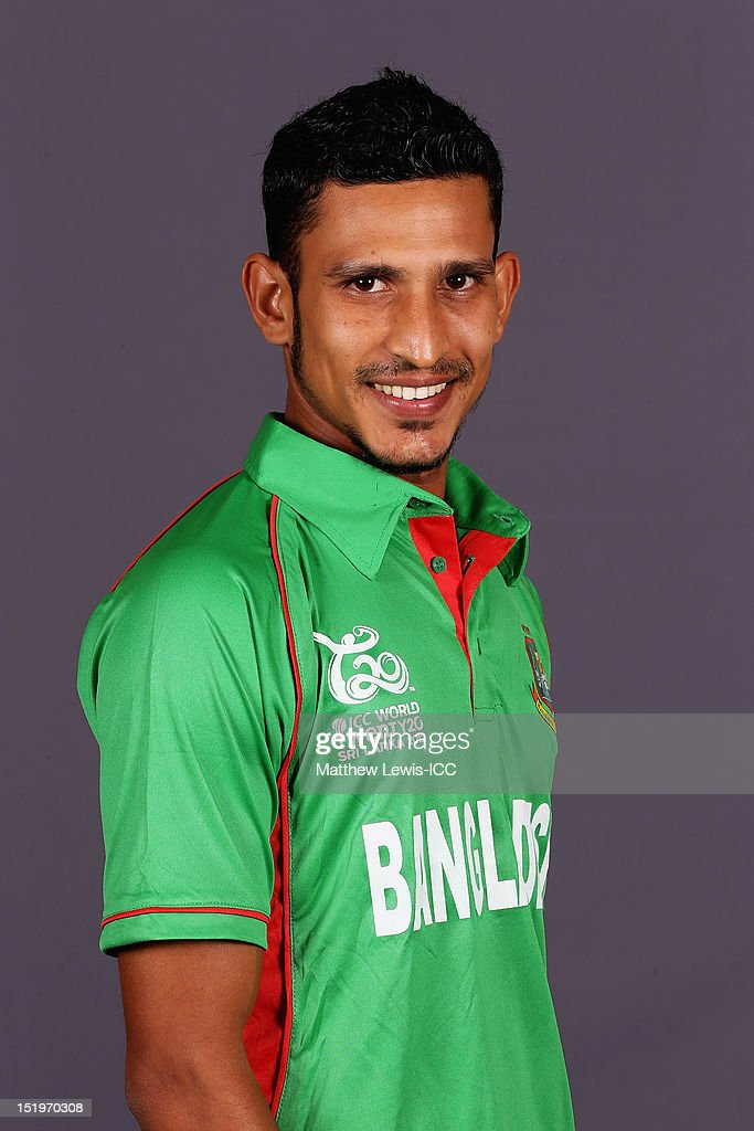 <a gi-track='captionPersonalityLinkClicked' href=/galleries/search?phrase=Nasir+Hossain&family=editorial&specificpeople=4879926 ng-click='$event.stopPropagation()'>Nasir Hossain</a> of Bangladesh pictured during a Bangladesh Portrait session ahead of the ICC T20 world Cup at the Taj Samudra Hote on September 14, 2012 in Colombo, Sri Lanka.