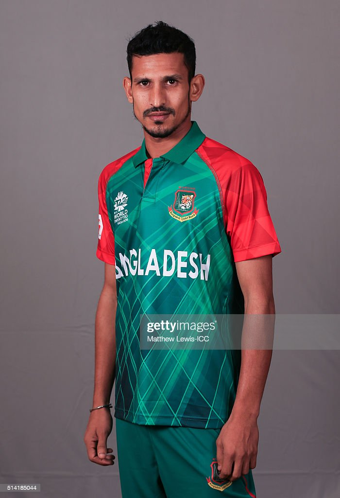 <a gi-track='captionPersonalityLinkClicked' href=/galleries/search?phrase=Nasir+Hossain&family=editorial&specificpeople=4879926 ng-click='$event.stopPropagation()'>Nasir Hossain</a> of Bangladesh pictured during a Headshot session ahead of the ICC Twenty20 World Cup on March 7, 2016 in Dharamsala, India.