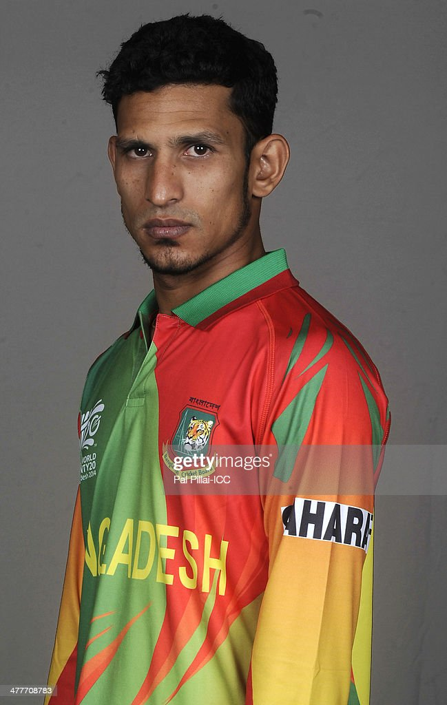 <a gi-track='captionPersonalityLinkClicked' href=/galleries/search?phrase=Nasir+Hossain&family=editorial&specificpeople=4879926 ng-click='$event.stopPropagation()'>Nasir Hossain</a> of Bangladesh poses for a picture during a headshot session ahead of the ICC T20 World cup on March 10, 2014 in Dhaka, Bangladesh.