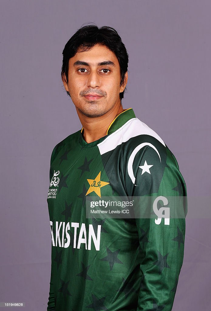 <a gi-track='captionPersonalityLinkClicked' href=/galleries/search?phrase=Nasir+Jamshed&family=editorial&specificpeople=4819500 ng-click='$event.stopPropagation()'>Nasir Jamshed</a> of Pakistan pictured during a Pakistan Portrait Session ahead of the ICC T20 World Cup at the Cinnamon Grand Hotel on September 13, 2012 in Colombo, Sri Lanka.