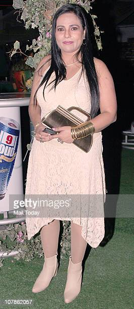 Nasreen Mirza at Salma Agha's bash at Dockyard in Mumbai