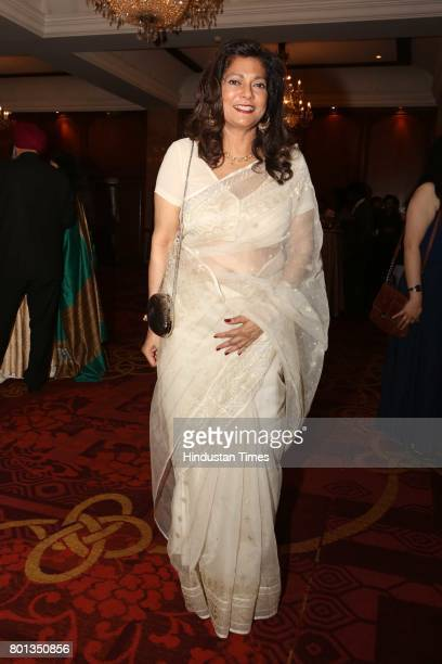 Nasreen Zamir during the Luxembourg National Day celebration at Taj Mahal Hotel on June 23 2017 in New Delhi India The Luxembourg National Day...