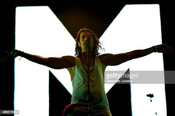 Nasri from Magic performs at 2015 Rock in Rio on September 20 2015 in Rio de Janeiro Brazil