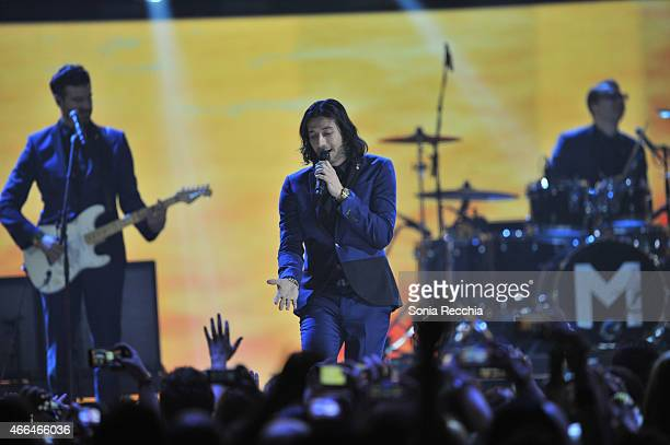Nasri of Magic performs at the 2015 JUNO Awards at the FirstOntario Centre on March 15 2015 in Hamilton Canada