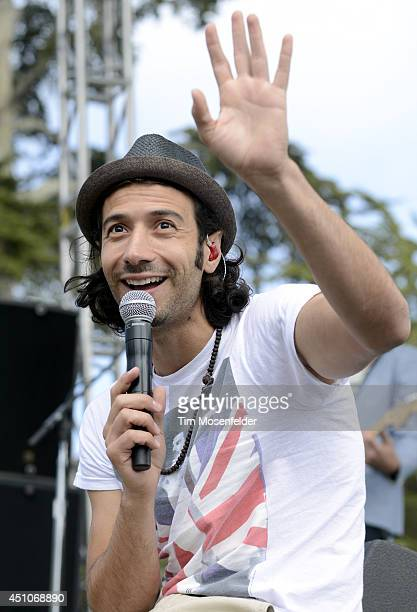 Nasri of Magic performs during Alice 973's Summerthing at Sharon Meadow in Golden Gate Park on June 22 2014 in San Francisco California