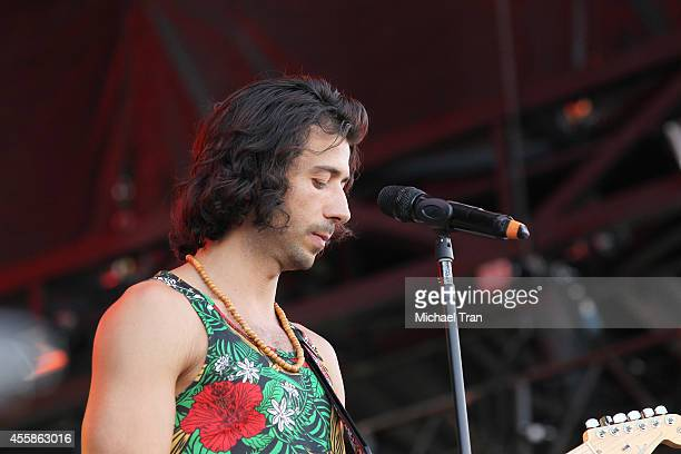 Nasri of Magic performs onstage during the 2014 iHeart Radio Music Festival Village held at The Lot at MGM Grand Resort and Casino on September 20...